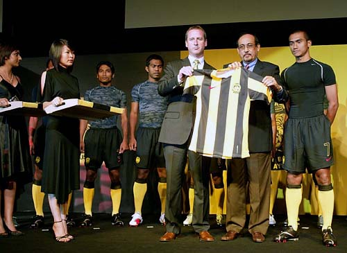 """""""We give our gratitude to Nike for making this partnership a reality,"""" said Dato' Redzuan Tan Sri Sheikh Ahmad, the deputy president of the FA of Malaysia (FAM) at the official launch."""